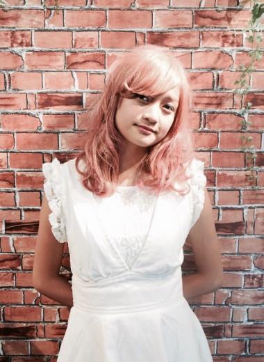 透け感ハイトーン【ピンク】